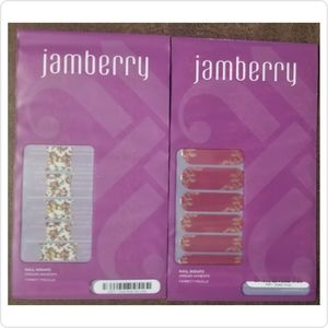 Jamberry Nail Wraps 2 Full Sheets